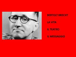 Introduzione a Brecht (powerpoint)
