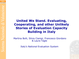 Bolli_Ciampi_Giordano_Tagle_Evaluation capacity