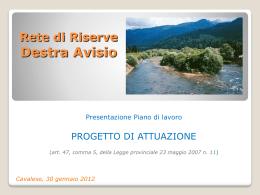 Relazione PowerPoint dott. Stefano Cattoi-MCF