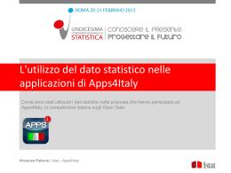 - Undicesima Conferenza Nazionale di Statistica