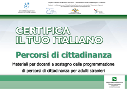 in slide Power Point - Educazioneadulti Brescia