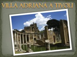 Villa Adriana a Tivoli - Comune di Civitanova Marche