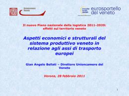 Il Veneto si caratterizza per un tessuto imprenditoriale di oltre