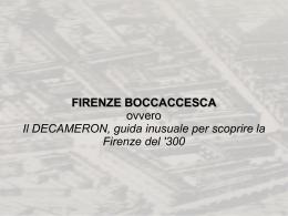 BoccaccioEFirenze