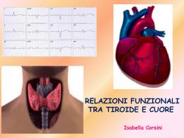 Relazioni funzionali tra tiroide e cuore