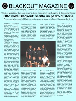 3 - Blackout Bergamo 2005