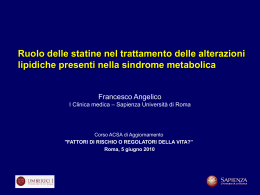 Terapia della dislipidemia aterogena nella SM