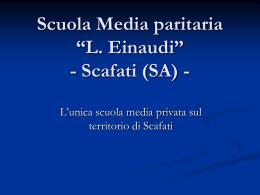 """Scuola Media paritaria """"L. Einaudi"""""""