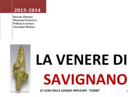 """1 C Lssa """"La Venere di Savignano"""""""