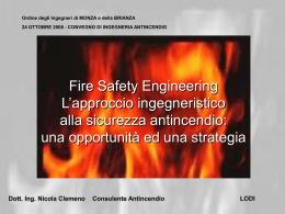 Dott. Ing. Nicola Clemeno Consulente Antincendio LODI