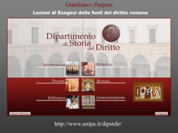 Esegesi 001 Fonti - Università di Palermo