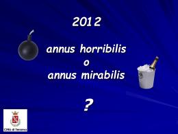 fine anno 2012 - GiulianovaNews