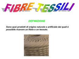 fibre tessili