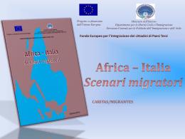 Africa – Italia. Scenari migratori