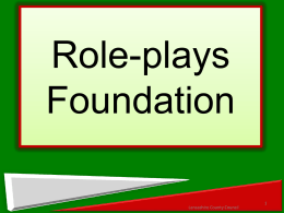 Role-plays Foundation