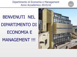 2015set28introduzione - Elearning Dipartimento di Economia e