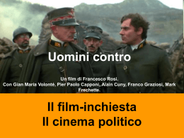Uomini contro, Francesco Rosi, 1970