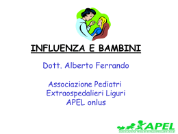 0ttobre 2002: Relazione sull`Influenza (power point)