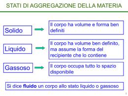 L4. Pressione. Dinamica dei fluidi - IRCCS gastroenterologico S. de
