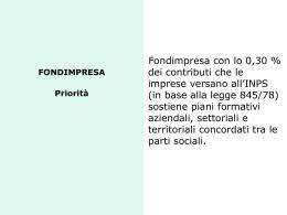 Roma, 25 novembre 2009 convegno FONDIMPRESA conto