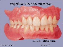 La protesi totale - Denti e non solo