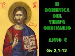 II DOM TEMP ORD (C) - Rivista di pedagogia religiosa
