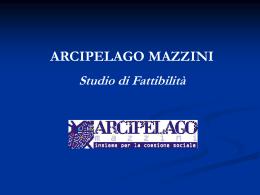 Diapositiva 1 - Arcipelago Mazzini