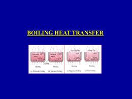 Boiling heat transfer - Università degli Studi di Pisa
