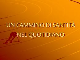 Un cammino di Santità nel quotidiano Beato Pietro Bonilli