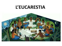 L`EUCARESTIA nel vangelo di Luca
