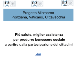 Progetto Microaree