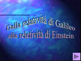 Relatività - Dipartimento di Fisica, Università della Calabria