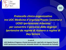 Διαφάνεια 1 - Azienda Complesso Ospedaliero San Filippo Neri