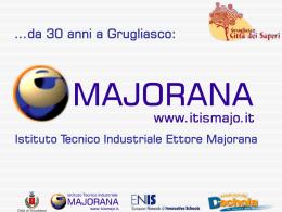 Presentazione Majorana 2008 orientamento