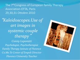 La Famiglia - European Family Therapy Association