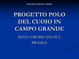 PROJETO POLO DE COURO EM CAMPO GRANDE