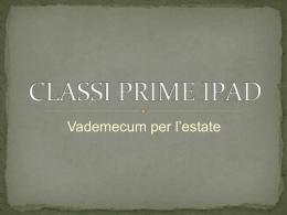 CLASSI PRIME IPAD