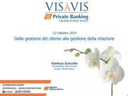 G. Scarcella, Veneto Banca Holding