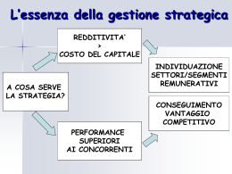 strategie di impresa