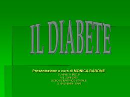 IL DIABETE monica barone - Liceo Scientifico Salvemini