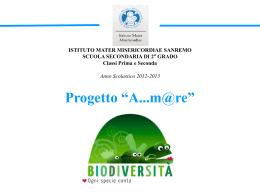 """Progetto """"A…m@re"""" - Istituto Mater Misericordiae"""