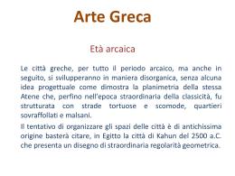 Arte Greca - Claudia Maestranzi