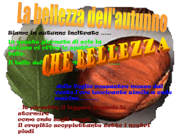 Autunno - Sito Istituto Comprensivo di Avigliana TO