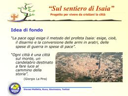Progetto Isaia - AC Diocesi Molfetta