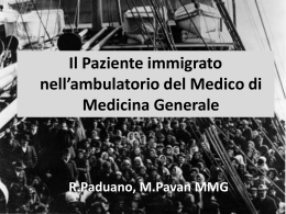 Relazione Paduano  - Ordine dei medici