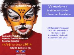 Diapositiva 1 - Congresso Sip Campania