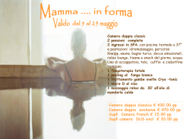 Mamma...in forma! - mbcommunication.net