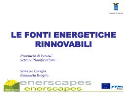 Presentazione Servizio Energia
