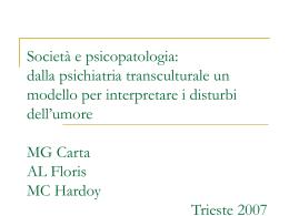 La psichiatria transculturale
