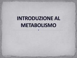 Metabolismo dei Grassi - Facoltà di Medicina e Chirurgia